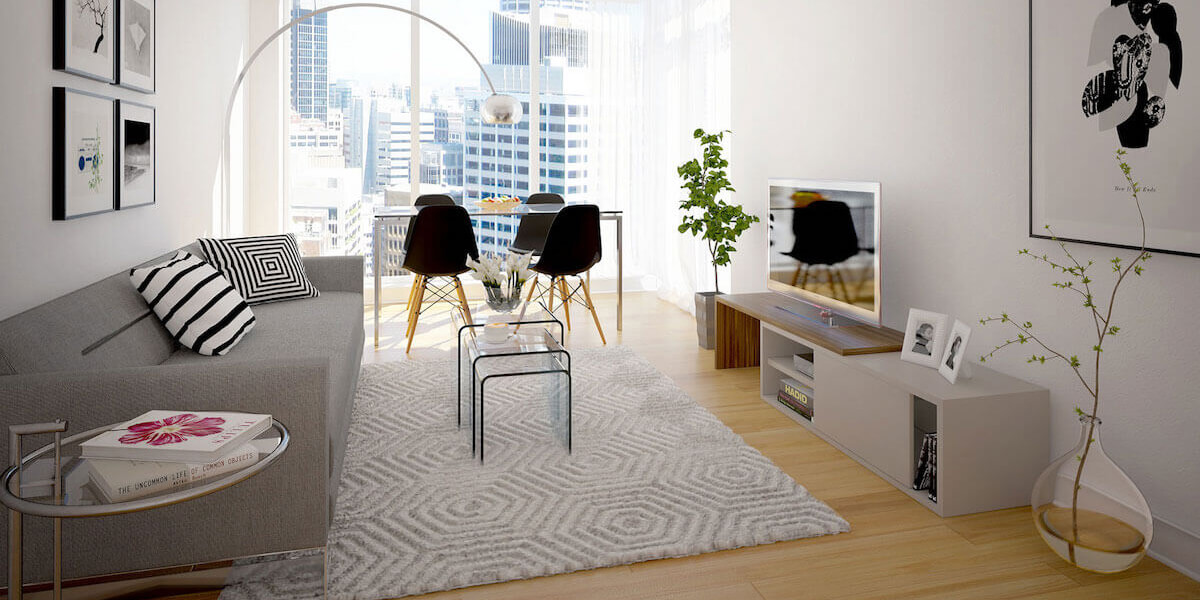 Four Walls Living Room