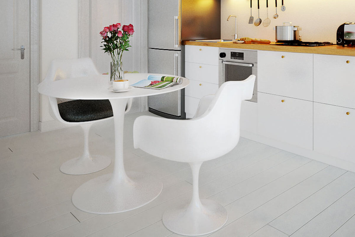 Modern Marble Dining Room