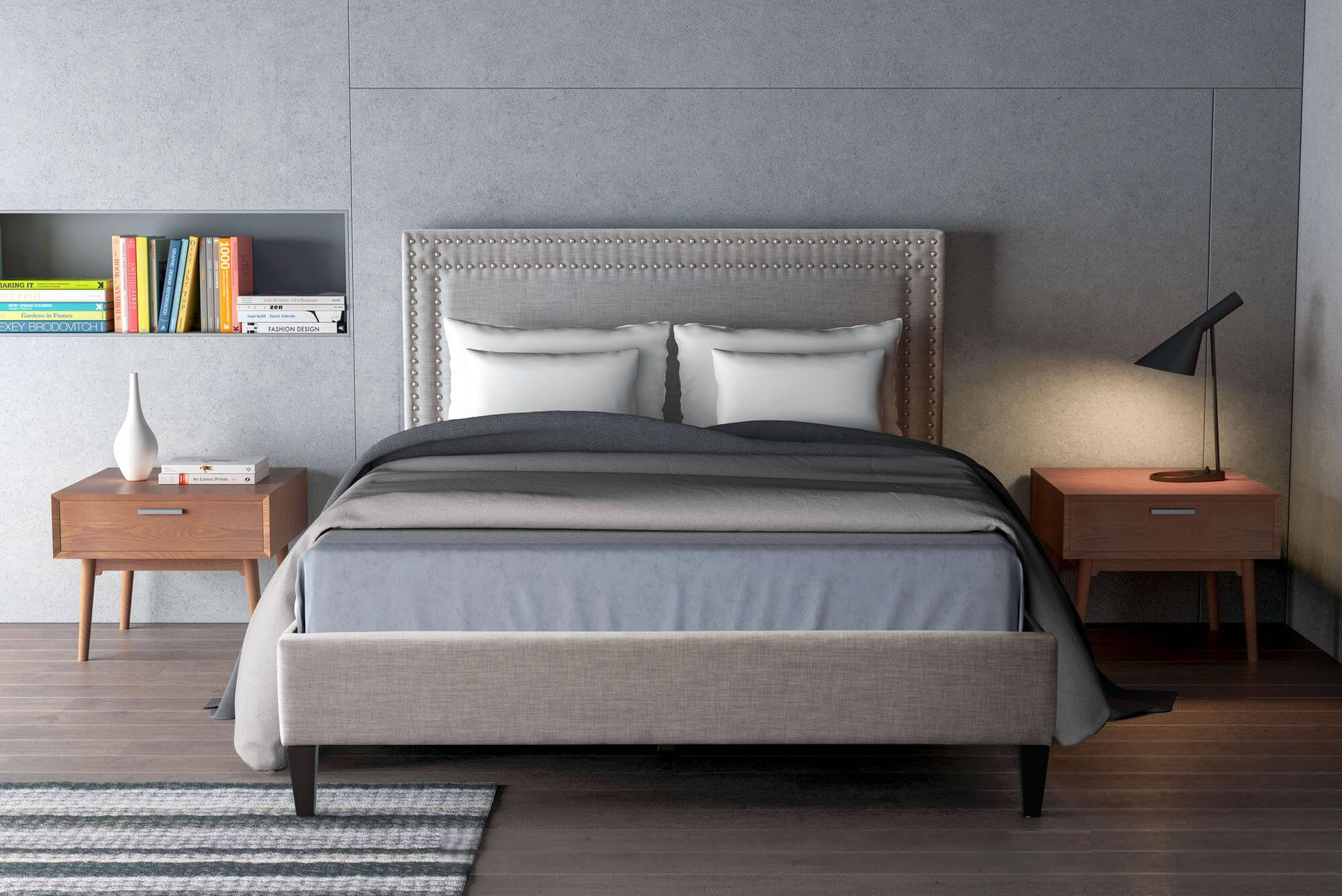 Modern Transtional Bedroom