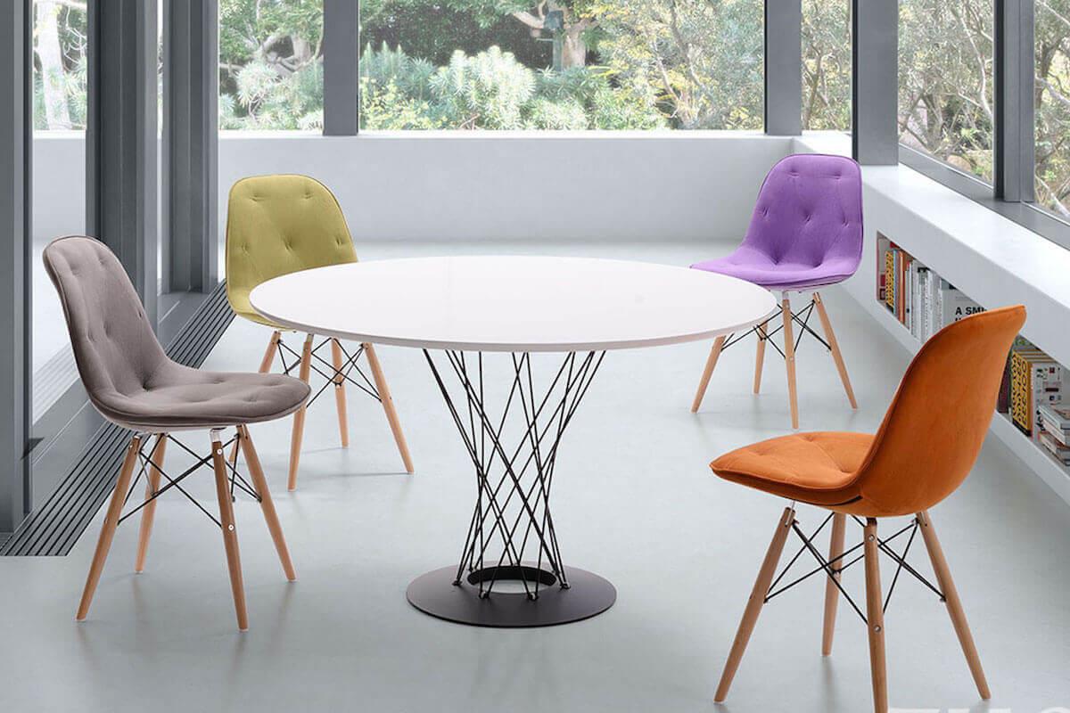 Retro Modern Dining Room
