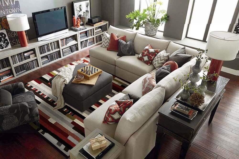 Cozy Contemporary Living Room