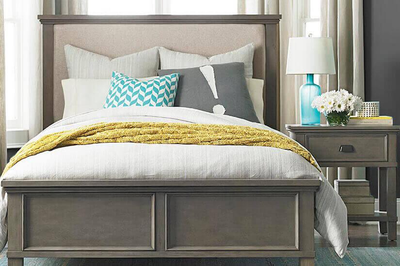 Bright Neutral Contemporary Bedroom