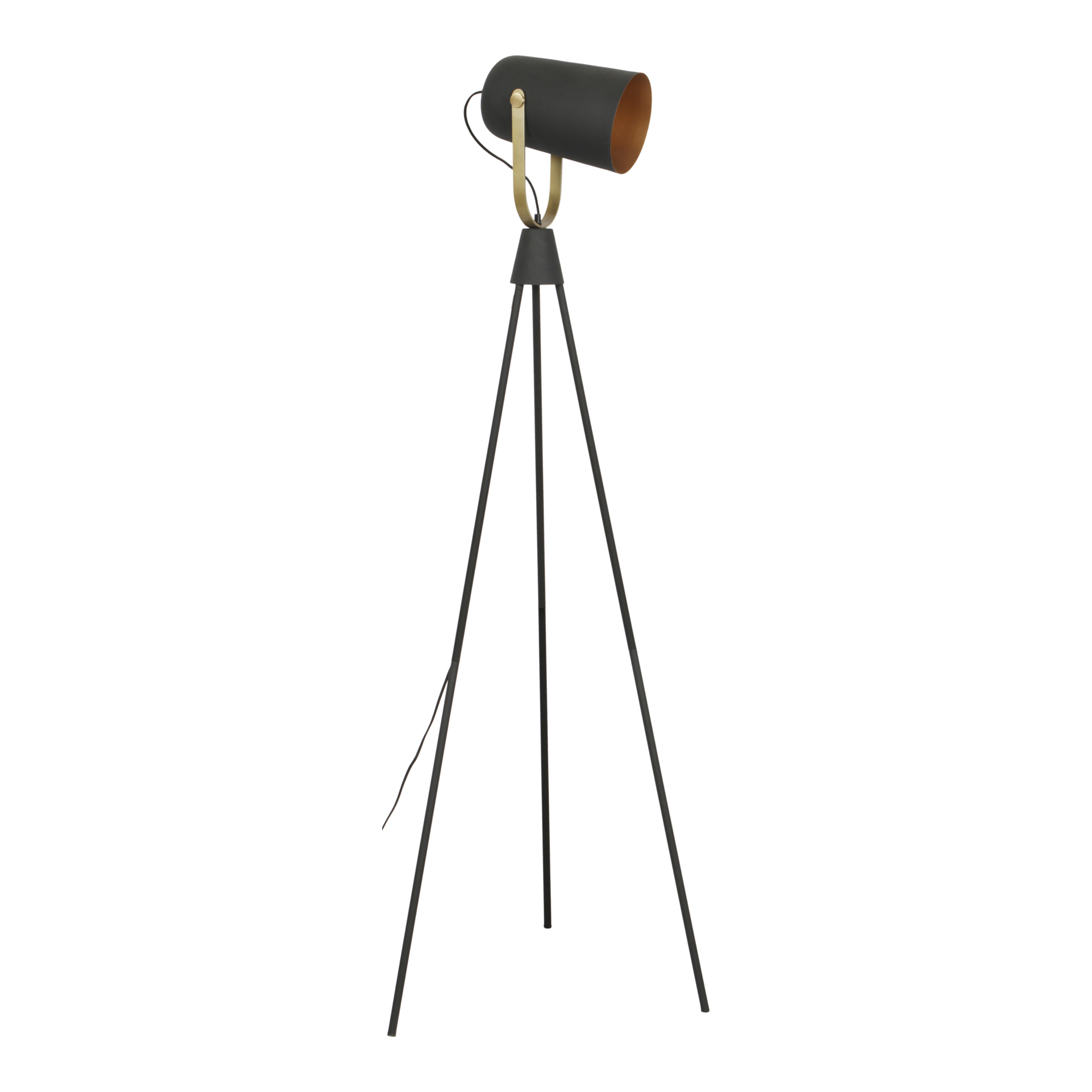 Lucina Floor Lamp Black
