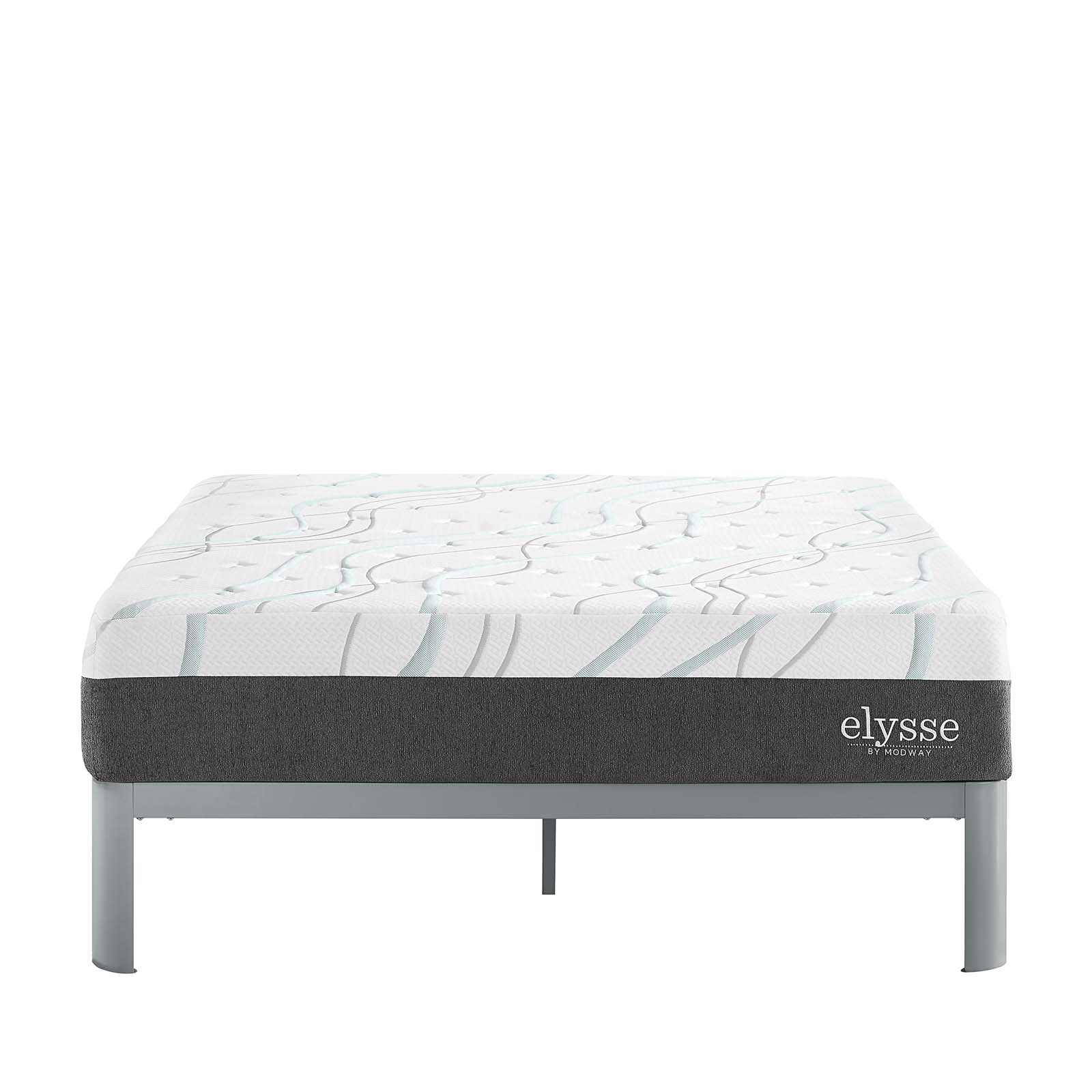"Elysse Full CertiPUR-US® Certified Foam 12"" Gel Infused Hybrid Mattress"