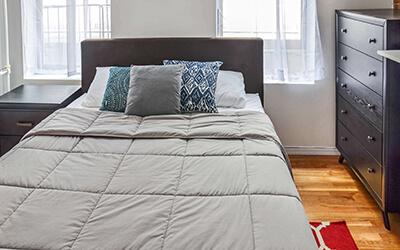Small New York Bedroom