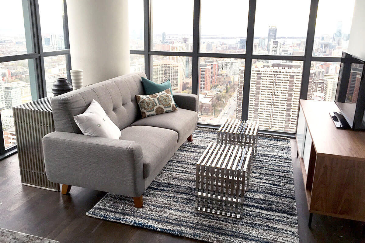 Living Room - Toronto Loft