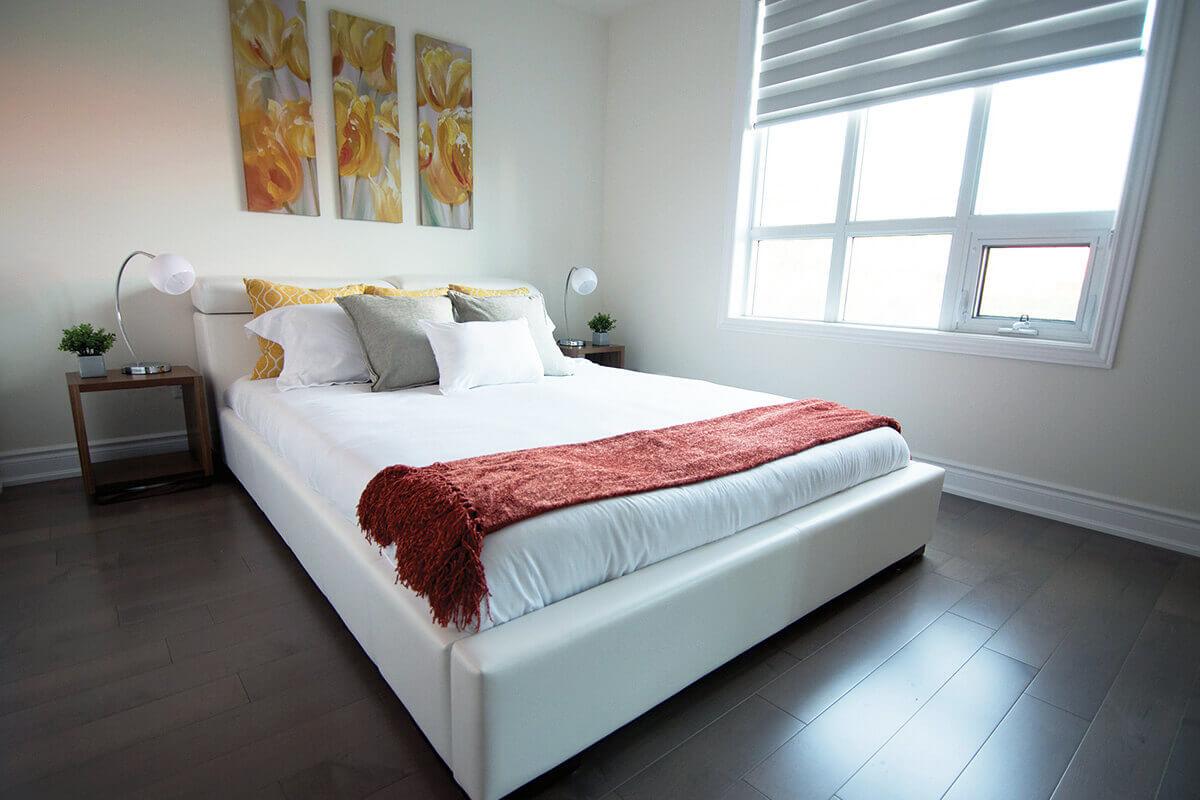 Small Condo Bedroom